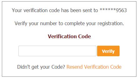 Verification Code Talent Sourcing